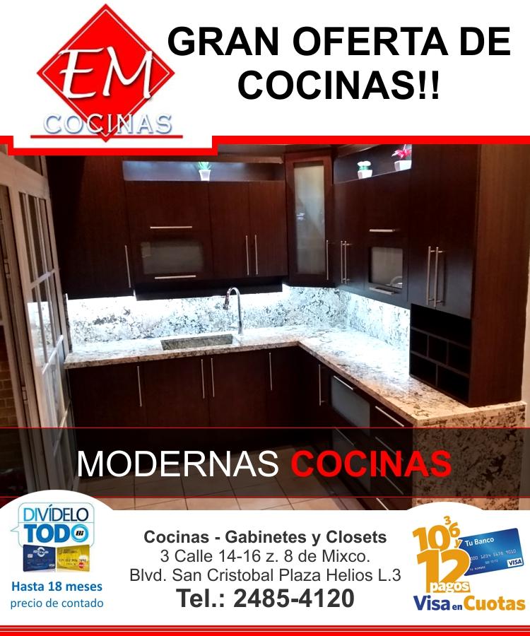Modernas cocinas a precio de contado - Precio de cocinas modernas ...