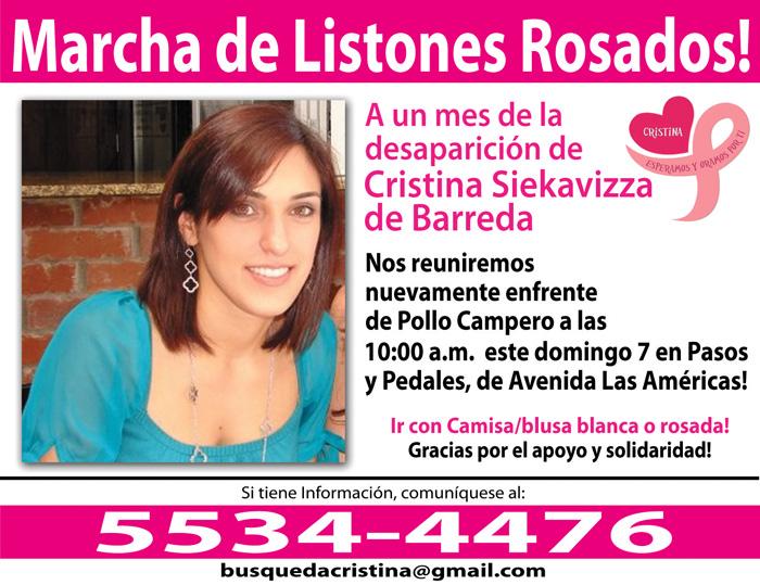 Caminata por Cristina Siekavizza
